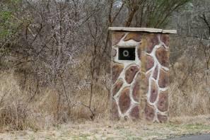 Fest installierte Geschwindigkeitskontrolle bei Skukuza (Kruger NP)