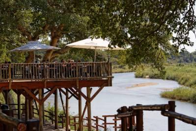 Aussichtsplatform am Restaurant in Skukuza (Kruger NP)