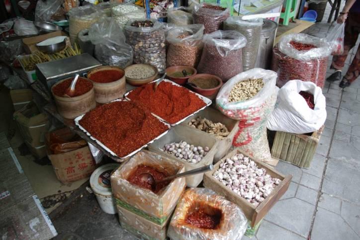 Markt in Chongqing