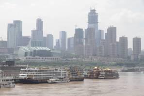 Skyline von Chongqing