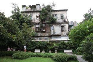 Verfallenes Haus in Guangzhou