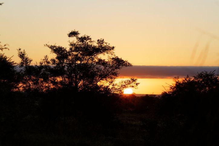 Sonnenaufgang bei Satara