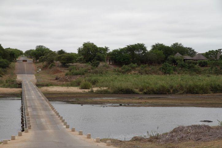 Brücke bei Crocodile Bridge