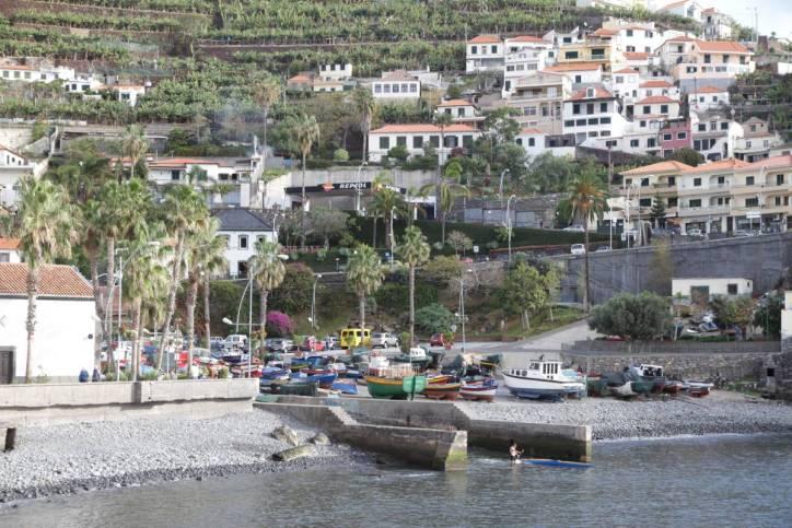Hafen von Camara de Lobos