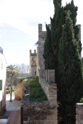 Stadtmauer in Alcudia