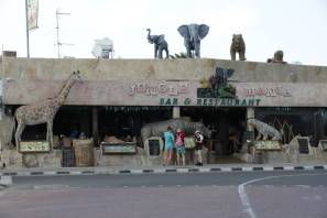 Dschungel-Restaurant in Agia Napa