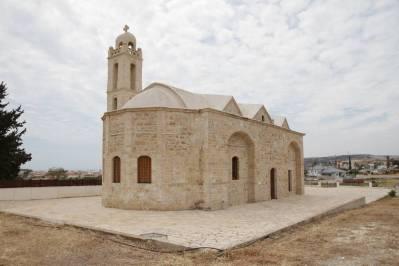 Friedhofskirche in Pyla