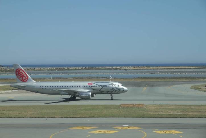 Flugzeug von Niki Air
