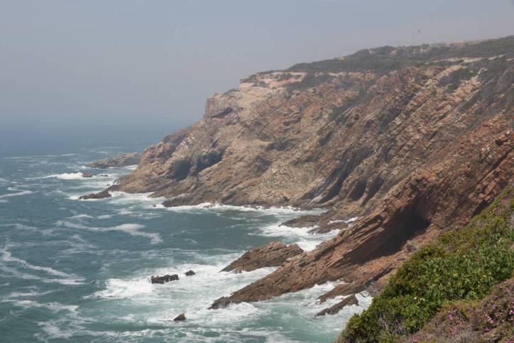 Steilküste beim Cape St. Blaize