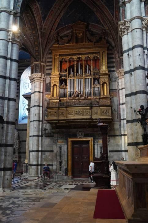 Orgel im Dom von Siena