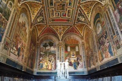 Piccolomini-Bibliothek im Dom von Siena