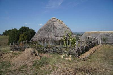 Karolingischen Siedlung