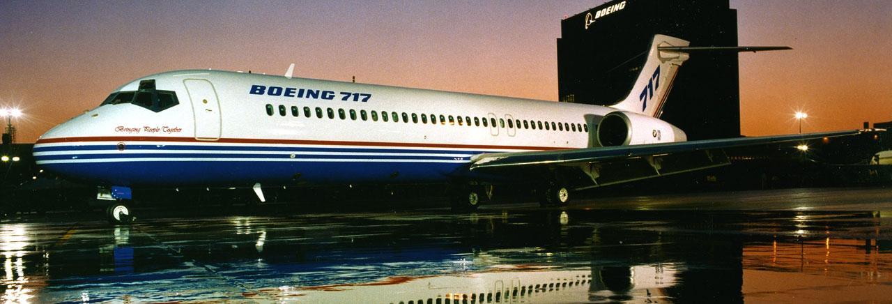 Resultado de imagen para Home of the Boeing 717