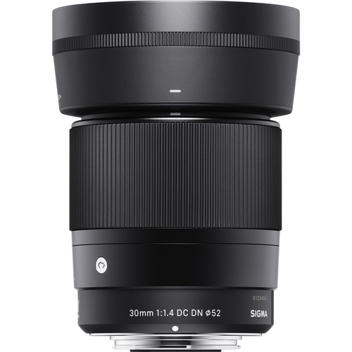 Sigma 30mm f/1.4 DC DN Contemporary Lens for (Sony E, M4/3 Mount)