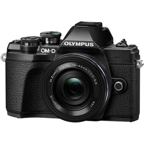 Olympus OM-D E-M10 Mark III with 14-42mm EZ Lens (FREE GIFT 32GB SD CARD + EXTRA BATTERY + CAMERA BAG)