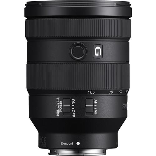 Sony FE 24-105mm f/4 G OSS Lens (Sony E-Mount)