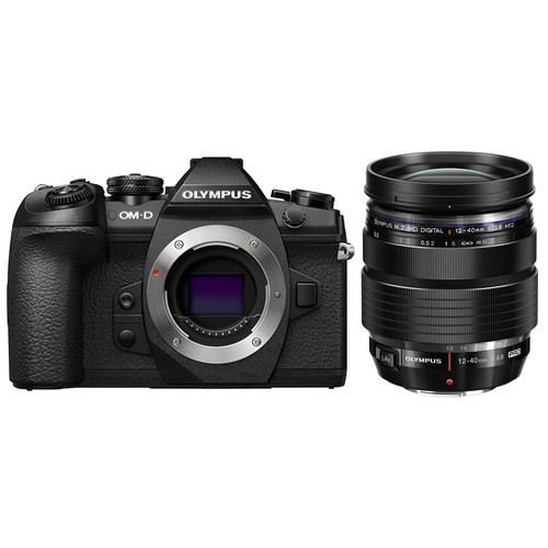 Olympus OM-D E-M1 Mark II with 12-40mm f/2.8 Lens Kit (Black) (FREE SANDISK 32GB UHS-II & EXTRA BATTERY)