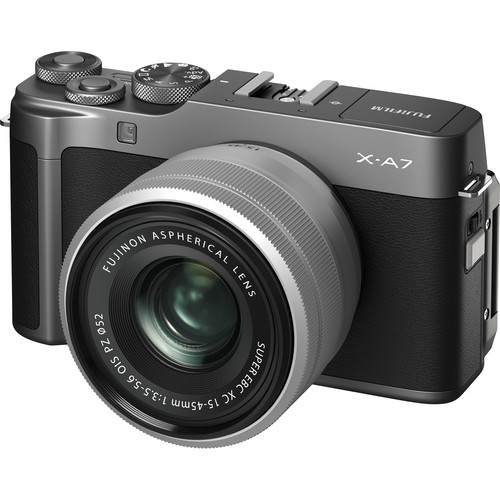 (CASHBACK) FUJIFILM X-A7 with 15-45mm Lens (FREE GIFT 32GB SD CARD and CAMERA BAG)
