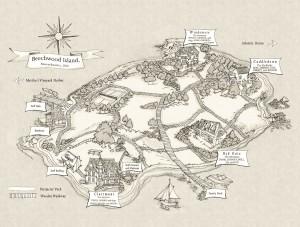 plattegrond Beechwood island