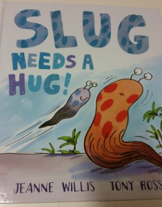 slug needs a hug picturebook