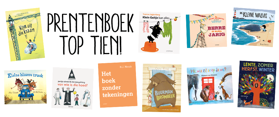 prentenboek top tien nationale voorleesdagen