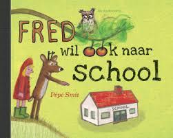 prentenboek fred hert wil naar school