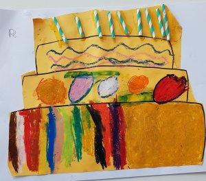 taart voorlezen