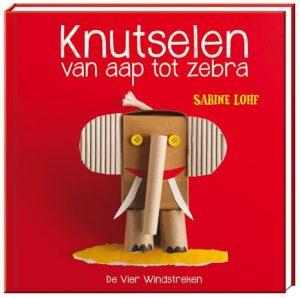 boek knutselen aap zebra