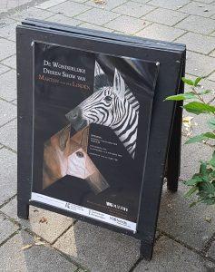 tentoonstelling wonderlijke dieren martijn van der linden
