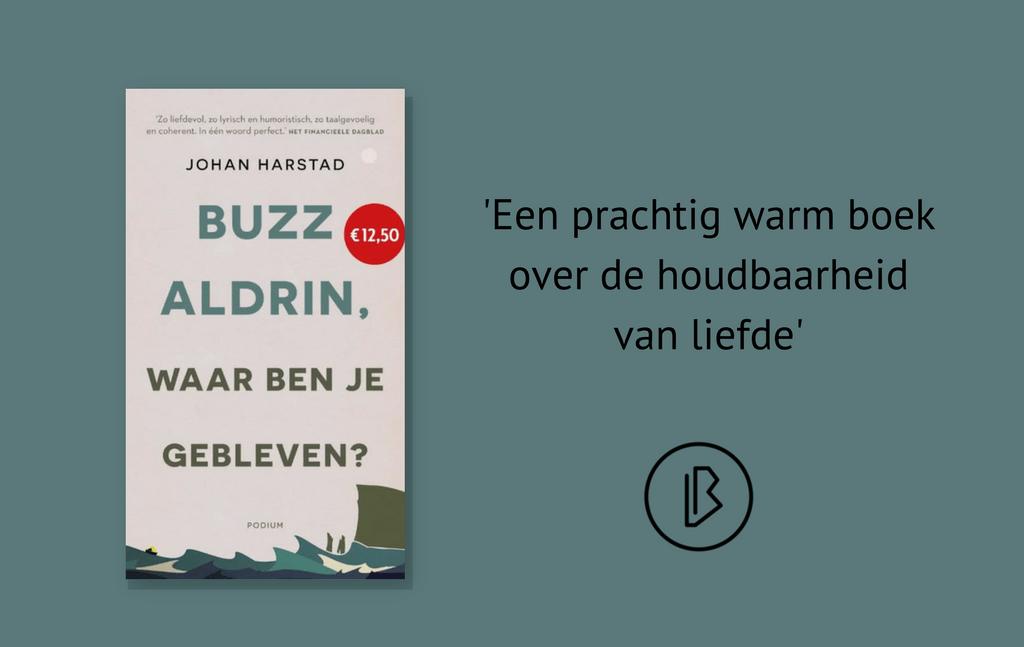 Recensie: Johan Harstad – Buzz Aldrin, waar ben je gebleven?