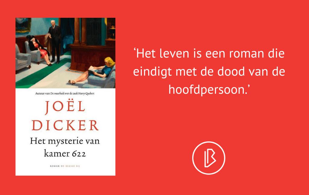 Recensie: Joël Dicker – Het mysterie van kamer 622