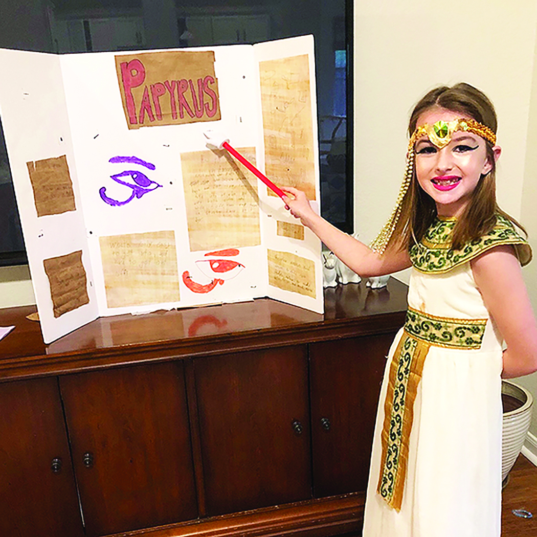 Geneva Second Graders Learn About Ancient Egypt From A