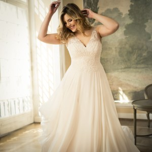 Mode de Pol plus size bridal