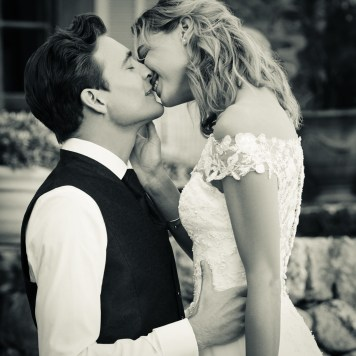 Braut und Bräutigam Hochzeitsfoto