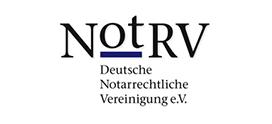 Mitglied im NotRV Logo externe Website Link