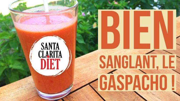 Gaspacho à l'ail rôti et au paprika fumé inspiré de Santa Clarita Diet – Battle Food #53