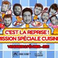 Emission de cuisine geek en direct sur Twitch