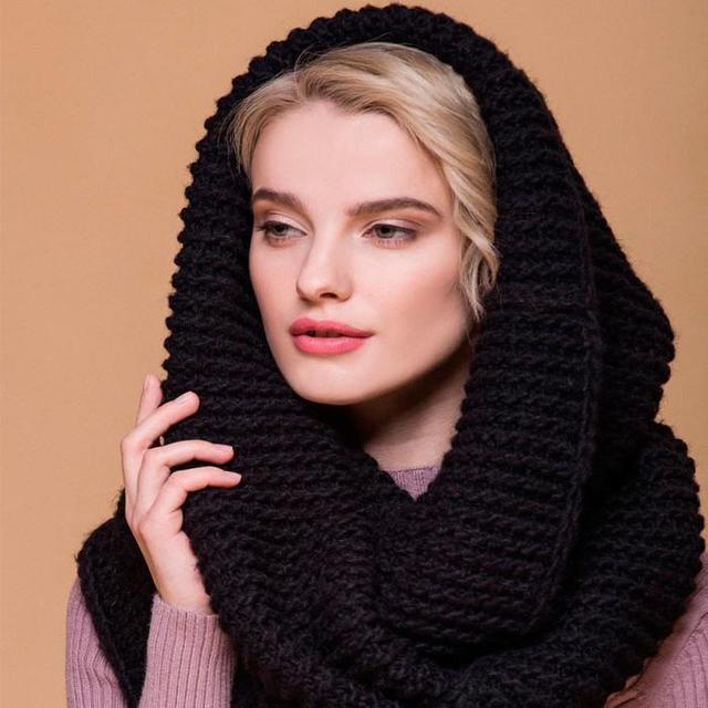 шарф-хомут, снуд