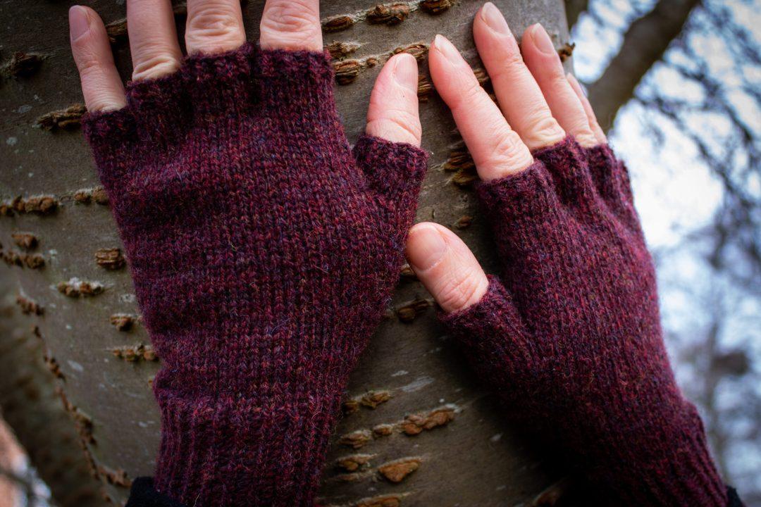 Fingervanter Bøgevald Knitwear