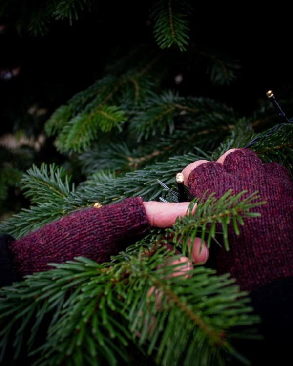 Strikkeopskrift på de perfekte fingervanter fra Bøgevald Knitwear