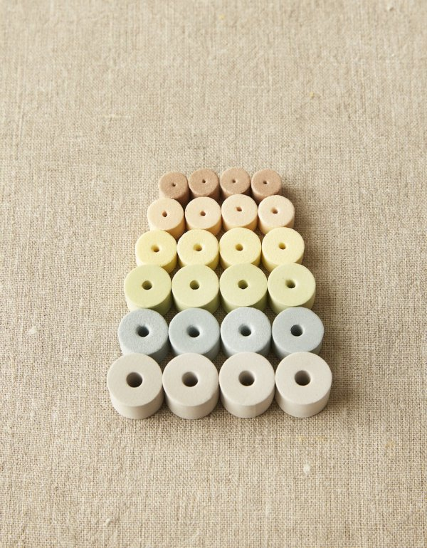 Cocoknits Stitch Stoppers Jordfarver