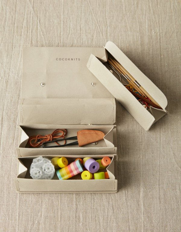 CocoKnits Accessory Roll | Grey
