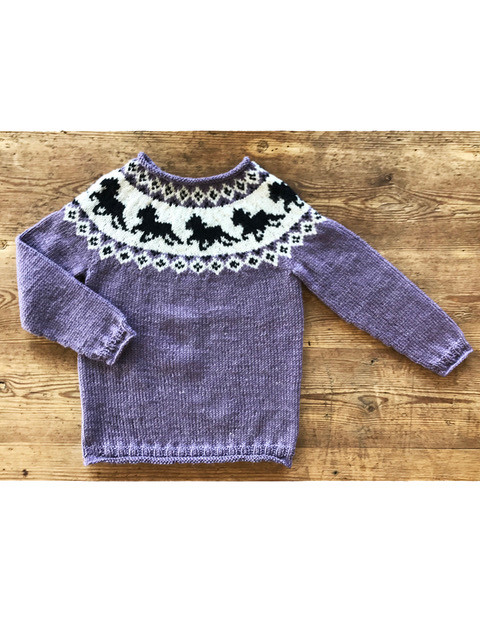 Hestesweater fra Onion Knit