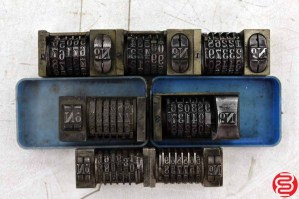 Numbering Machines - Qty 7