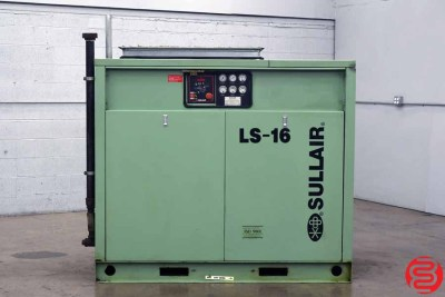 Sullair LS-16 Rotary Screw Air Compressor - 091419110554