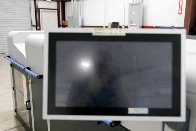2014 TRESU iCoat 30000 Inline UV Coating System