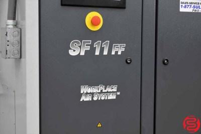 2008 Atlas Copco SF11 Rotary Screw Air Compressor - 010820093830