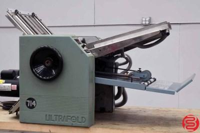 Baum 714 Ultrafold Vacuum Feed Paper Folder - 013020073545