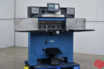 Challenge 305 CDC Hydraulic Programmable Paper Cutter - 011320020920