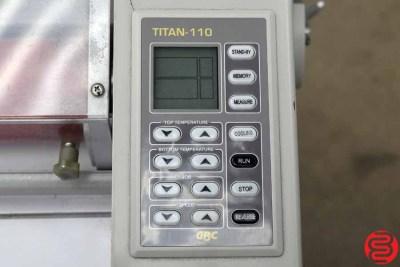 GBC Titan 110 Wide Format Hot Roll Laminator - 012920025515
